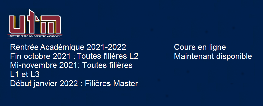 Rentrée Académique 2021-2022